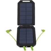 Cobraselect CPP 300 SP 6000 mAh USB Backup Battery Pack With Dual Solar Panel