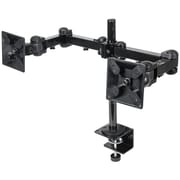 Manhattan® 420808 LCD Monitor Mount With 36 Double-Link Swing Arms, Black