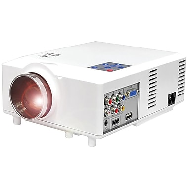 Pyle® audio PRJD903 50in. - 100in. 1080p Widescreen LED Projector, 640 x 480