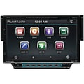 Planet Audio® P9738 7in. Single Din Motorized Slide-Down Touchscreen AM/FM Receiver