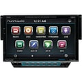 Planet Audio® P9742 7in. Single Din Motorized Slide-Down Touchscreen AM/FM Receiver With Bluetooth