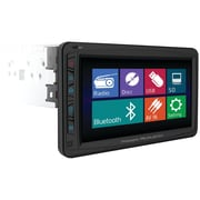 "Power Acoustik® PD-712 7"" Single Din Motorized LCD Touchscreen DVD Receiver With Detachable Face"
