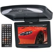"SSL 11.2"" Flip Down TFT All-In-One DVD Player With IR, Black"