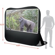 Sima® 84 Pop-Up Projection Screen