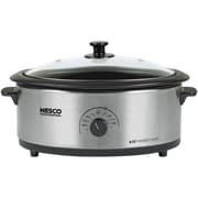 Nesco® 6 qt Roaster With Nescote® Non-Stick Cookwell, Stainless Steel