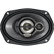 Clarion® SRG GOOD Series 6 x 9 450 W Multiaxial 3 Way Speaker System, Black