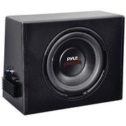 Pyle® PLPR10A 10 300 W Slim Design Powered Enclosure System, Black