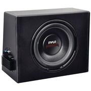 Pyle® PLPR10A 12 400 W Slim Design Powered Enclosure System, Black