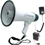 Pyle® Pro PMP45R 40 W Professional Dynamic Megaphone With Recording Function/Microphone, White