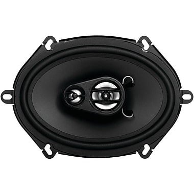 SSL Ex Series 5in. x 7in. 200 W Full Range 3 Way Poly Injection Cone Speaker, Black