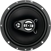 "SSL Ex Series 6.5"" 150 W Full Range 3 Way Poly Injection Cone Speaker, Black"