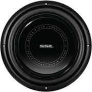 """SSL SLP Series 10"""" 800 W Low Profile High Power Single Voice Coil Low Profile Subwoofer, Black"""