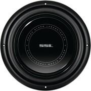 """SSL SLP Series 12"""" 1200 W Low Profile High Power Single Voice Coil Low Profile Subwoofer, Black"""