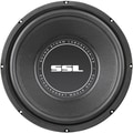 SSL SS Series 10in. 600 W Single 4 Ohm Voice Coil Subwoofer, Black