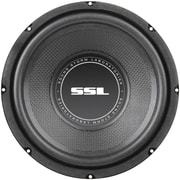 "SSL SS Series 8"" 400 W Single 4 Ohm Voice Coil Subwoofer, Black"