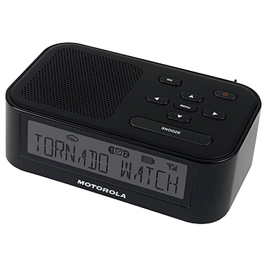 Motorola MWR815 Desktop Weather Radio