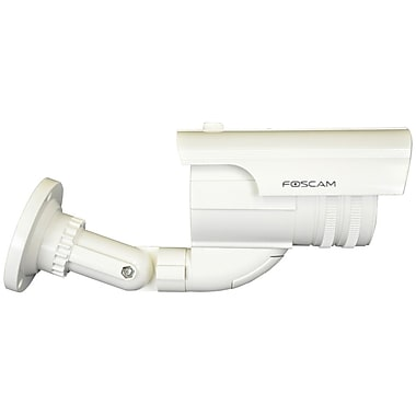 Foscam® FD2130 Indoor/Outdoor Dummy Camera With Red Blinking Light, White