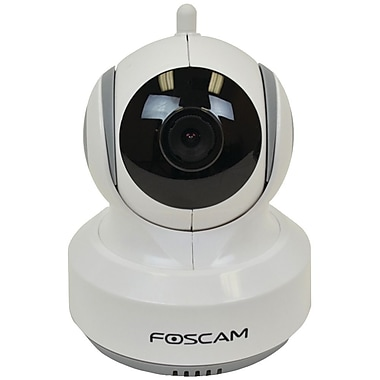 Foscam® FBM3501 Wireless Home and Baby Monitor With 3 1/2in. LCD, White