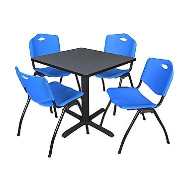 Regency Seating Gray Lunchroom Table 42
