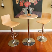 3-Piece RST Outdoor Barstool/Bar Table Set