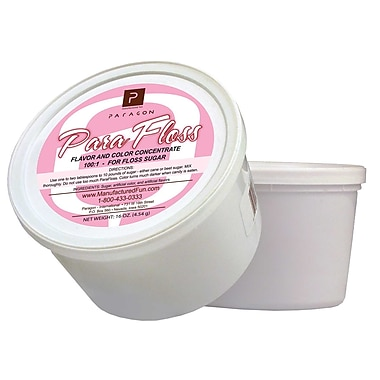 Paragon International 16 oz. ParaFloss Sugar Tub; Grape