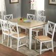 TMS Crossback 7 Piece Dining Set