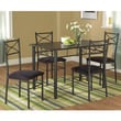 TMS Valencia 5 Piece Dining Set I