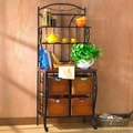 Wildon Home   Storage Baker's Rack
