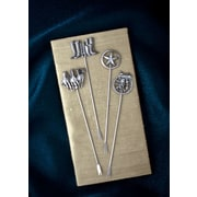 Thirstystone 4 Piece Western Appetizer Pick Set