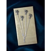 Thirstystone Palm Tree Appetizer Pick (Set of 4)