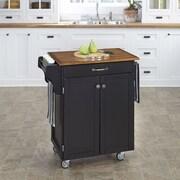 Home Styles Kitchen Cart; Black