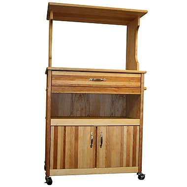 Catskill Craftsmen Farmhouse Microwave Cart