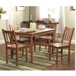 TMS 5 Piece Bamboo Dining Set