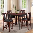American Furniture Classics Casual 5 Piece Counter Height Pub Set