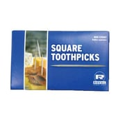 Royal Toner Square Wood Toothpicks in Natural