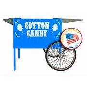 Paragon International Deep Well Cotton Candy Cart; Blue