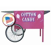 Paragon International Deep Well Cotton Candy Cart; Pink