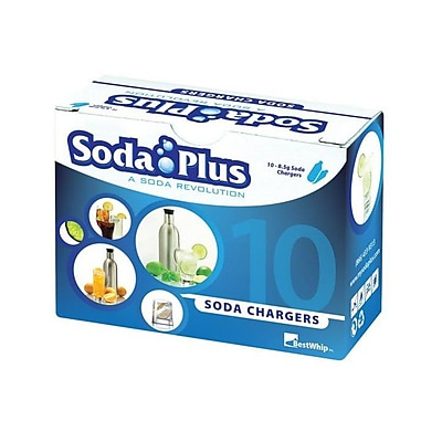 SodaPlus CO2 Charger Set of 10