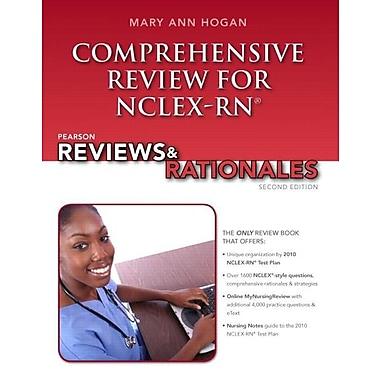 Pearson Reviews & Rationales: Comprehensive Review for NCLEX-RN (2nd Edition), Used Book