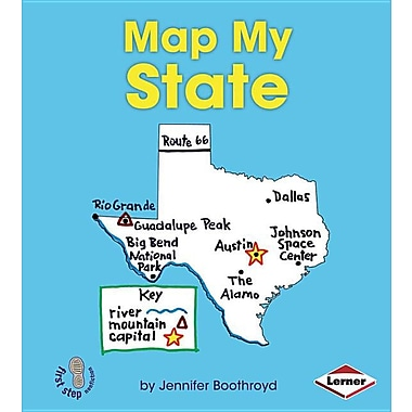 Map My State (First Step Nonfiction)