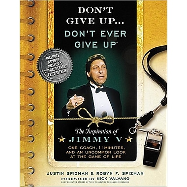 Don't Give Up...Don't Ever Give Up with DVD