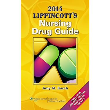 2014 Lippincott Nursing Drug Guide (Lippincott's Nursing Drug Guide), New Book