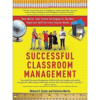 Successful Classroom Management: