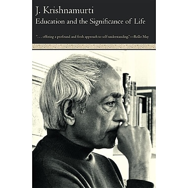 Education and the Significance of Life, New Book