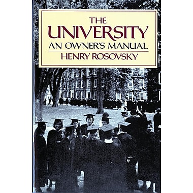 The University: An Owner's Manual [Paperback]