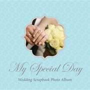 My Special Day Wedding Scrapbook Photo Album
