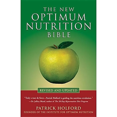 The New Optimum Nutrition Bible, Used Book