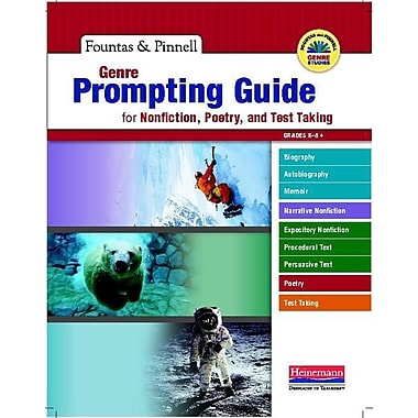 Genre Prompting Guide for Nonfiction, Poetry, and Test Taking K-8