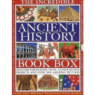 THE INCREDIBLE ANCIENT HISTORY BOOK BOX: Step into the past with 8 fantastic books
