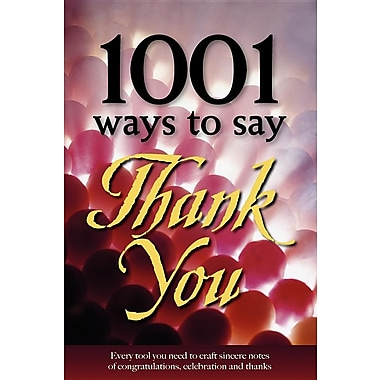 1001 Ways to Say Thank You